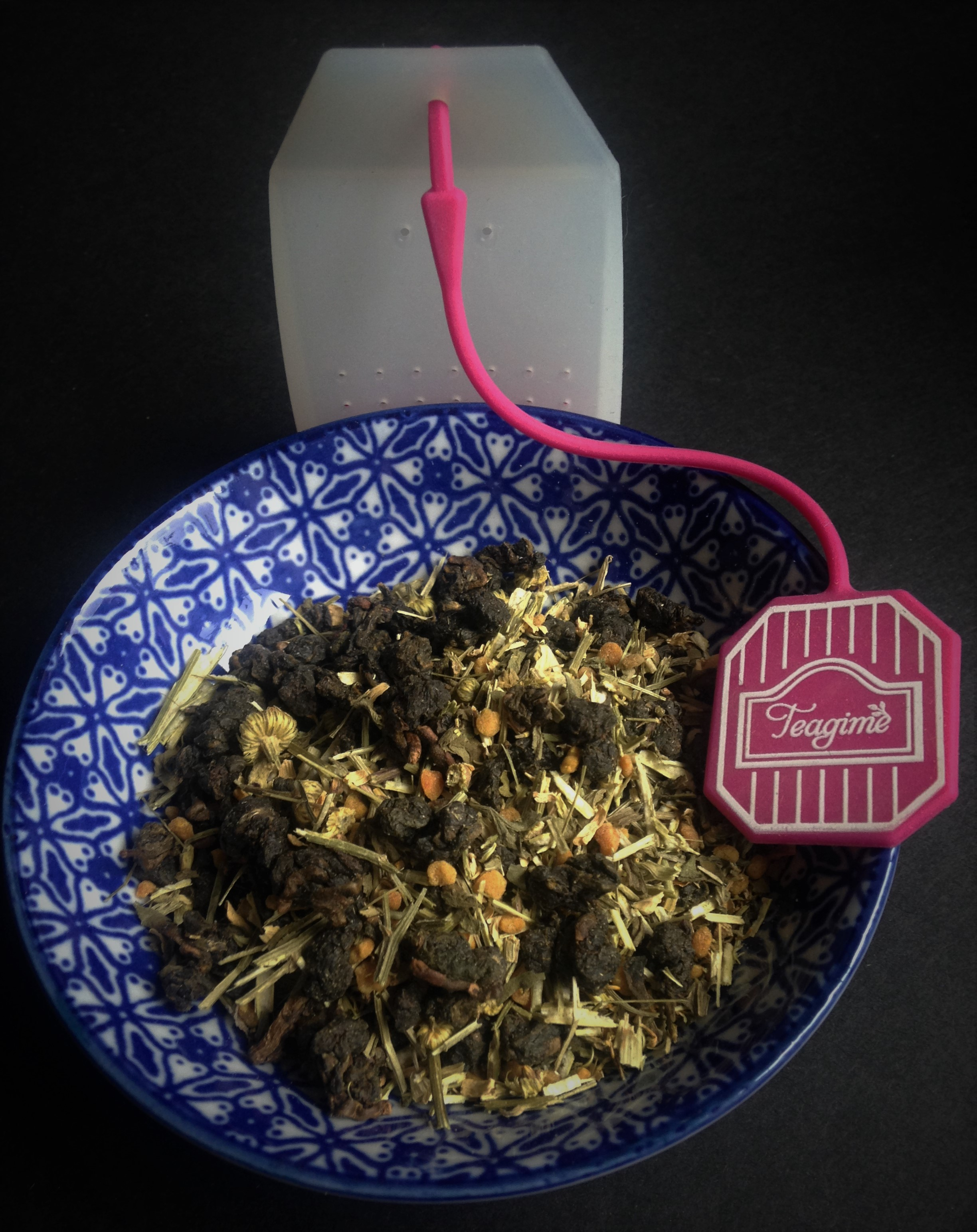 Be Like The HoneyBee Oolong Tea Teagime Teatox Tea Subscription Box