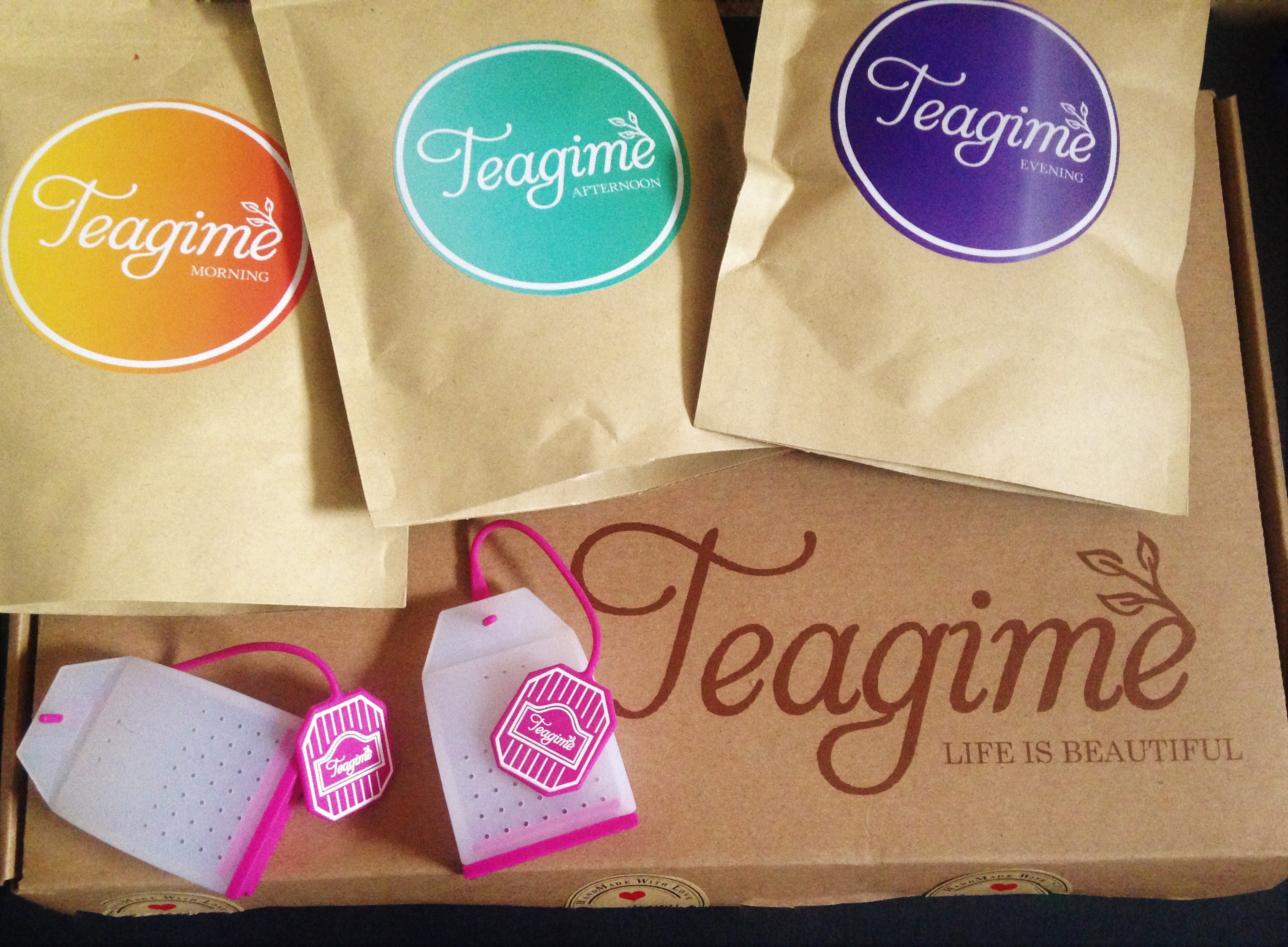 Teagime Teatox Tea Subscription Box