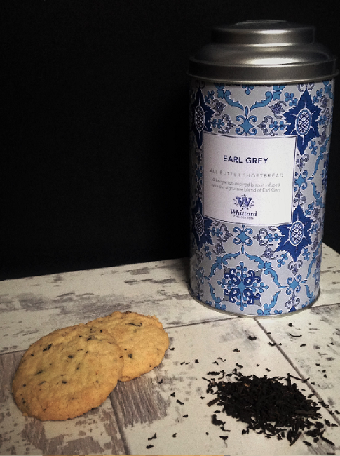 Whittard of Chelsea Earl Grey Butter Shortbread Biscuits
