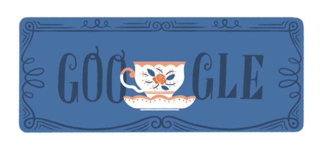 Google Doodle History of Tea in the UK