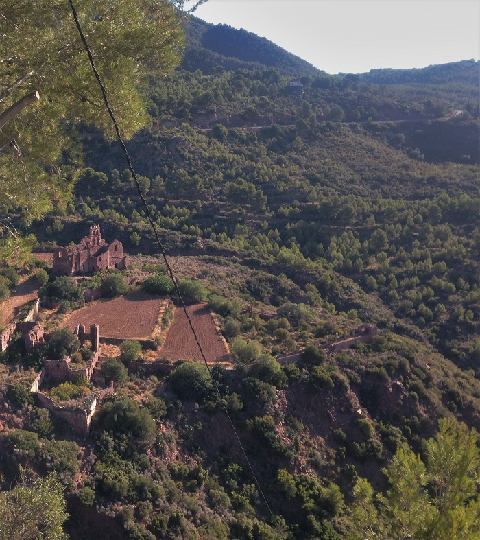 Resturaunt view mountain hike benicassim spain