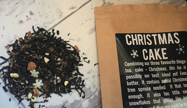 Christmas Cake Black Tea Bluebird Tea Company