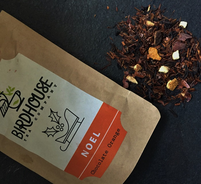 Chocolate Orange Black Tea and Rooibos Christmas Tea - Birdhouse Tea Company
