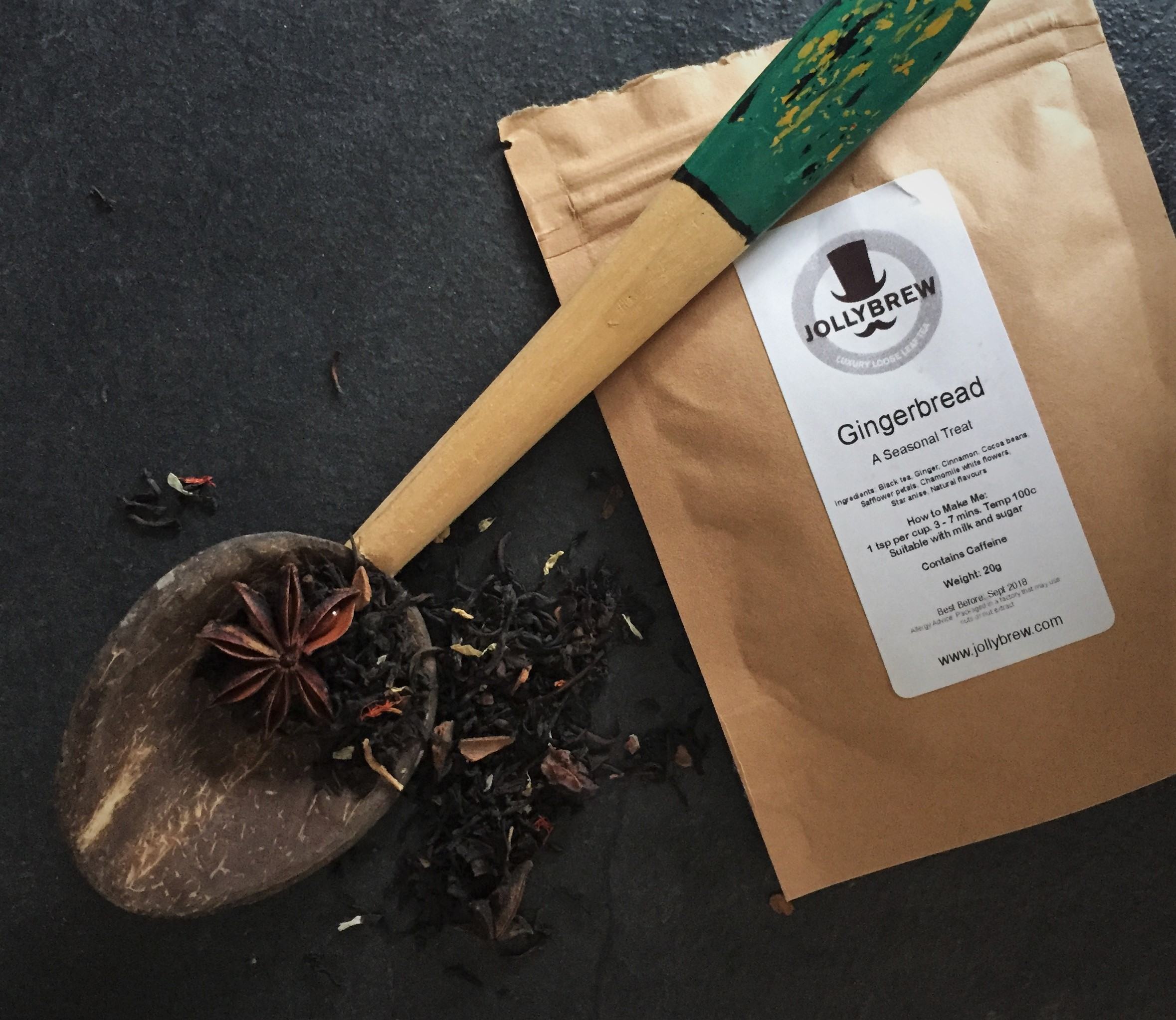 Gingerbread Black Tea - Jolly Brew