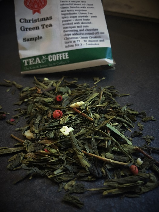 Christmas Green Tea - Kent & Sussex Tea & Coffee Company
