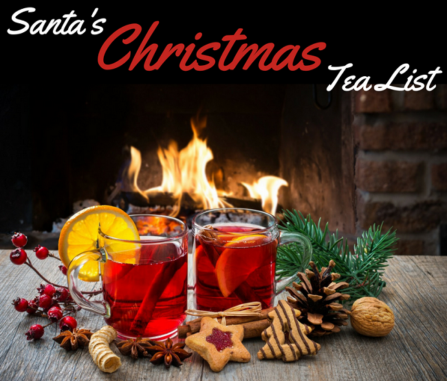 Santa's Christmas Tea List