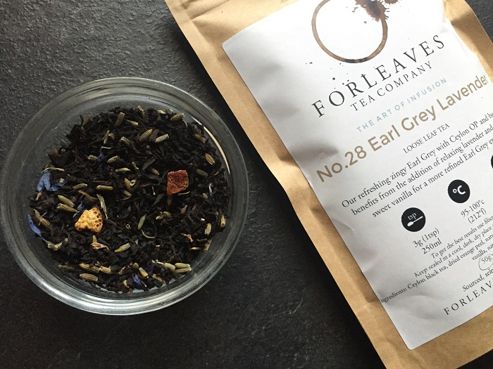 Earl Grey Lavender black tea - Leaves Tea Company