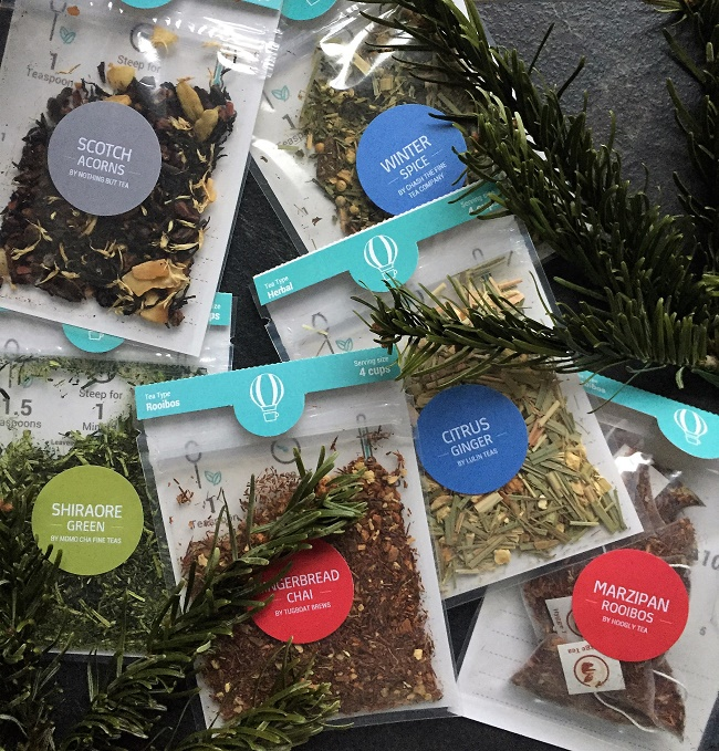 Tea Tourist Monthly Subscription Box Christmas Edition