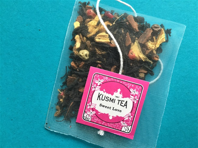 Sweet Love Black tea by Kusmi Tea