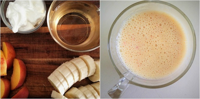 Peach, Banana and Jasmine Tea Smoothie Recipe
