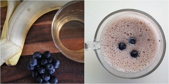 Banana, Blueberry and Jasmine Tea Smoothie Recipe