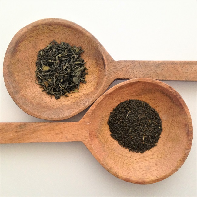 Difference between teabag and loose leaf green tea grades