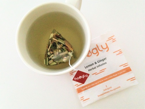 Lemon and Ginger Herbal tea Hoogly Hygge Tea