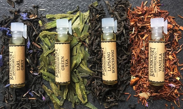 Ravenscourt Apothecary Botanical Tea Perfume Fragrances set