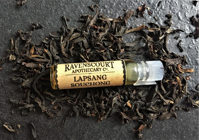 Ravenscourt Apothecary Botanical Tea Perfume Fragrances set - Lapsang Souchong