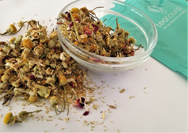 Camomile Fennel Rose Herbal Tea Edgcumbes Tea Tourist