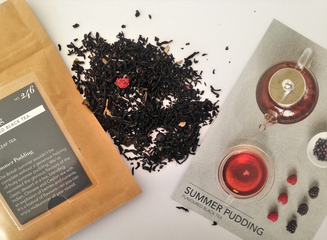 Whittard of Chelsea Tea Chest Subscription Box - Summer Pudding Black Tea Berry Blend