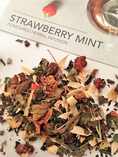 Whittard of Chelsea Tea Chest Subscription Box - Strawberry Mint Herbal Fruit Tea