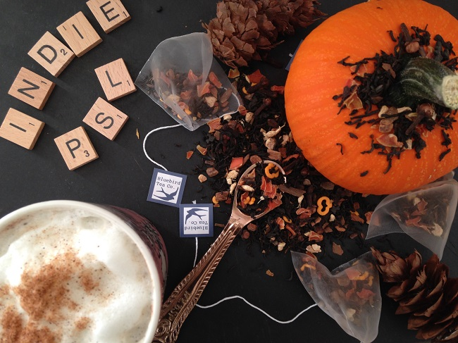 Bird & Blend Tea co Autumn Collection – Spiced Pumpkin Pie Black Tea - IndiePSL