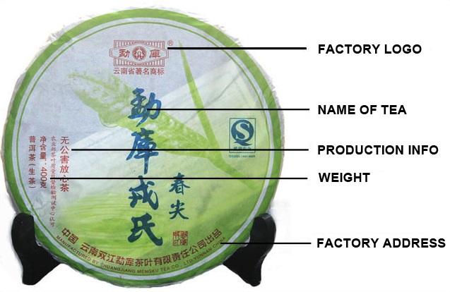 Puerh Cake Industry Information Packaging