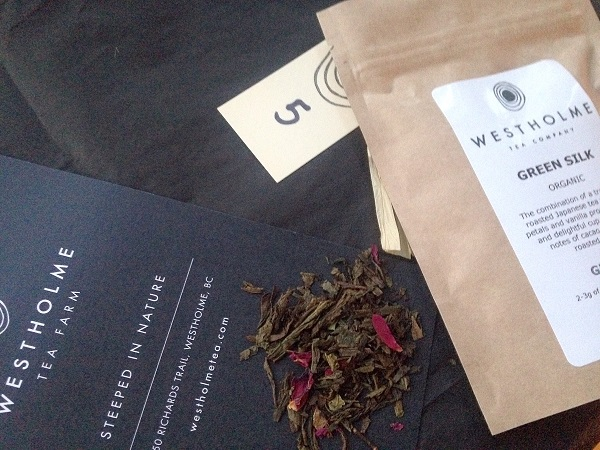 Green Silk Green Tea Westholme Tea Farm Advent Calendar