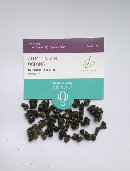 Tea Tourist Ali Mountain Oolong tea Golden Tea Leaf Co.