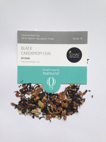 Tea Tourist Ichai Black cardamom Chai Black Tea