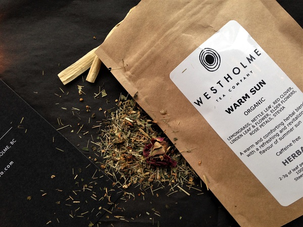 Warm Sun Herbal Tea Westholme Tea Farm Advent Calendar