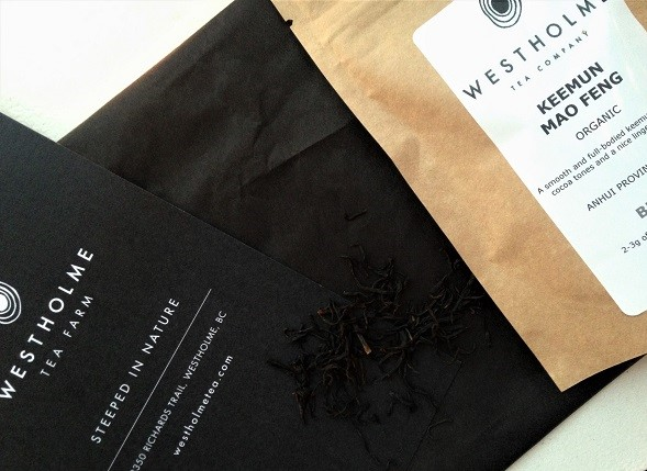 Keemun Mao Feng Black Tea Westholme Tea Farm Advent Calendar