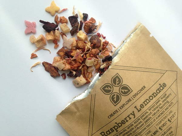 Dollar Tea Club Subscription Box - Raspberry Lemonade Fruit Tea