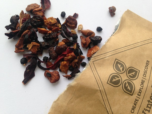 Dollar Tea Club Subscription Box - Winter Punch herbal Fruit Tea