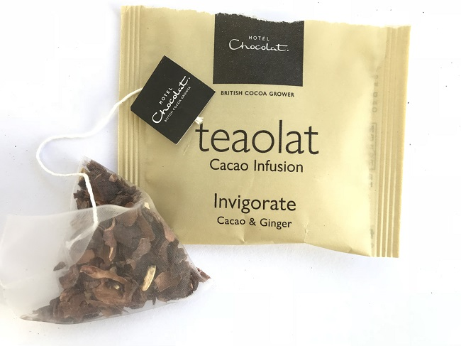 Hotel Chocolat Invigorate Ginger Chocolate Tea