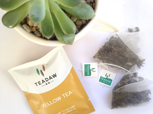 Teadaw Flower Fields Yellow Tea