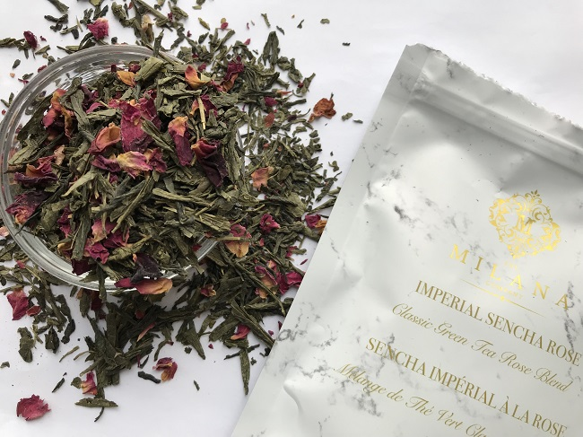 The Milana Company Imperial Sencha Rose Green Tea