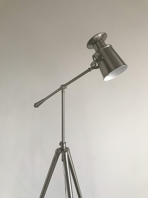 Thrift find tripod spot light lamp