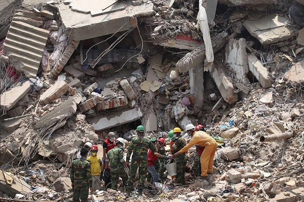 Rana Plaza collapse rescue team